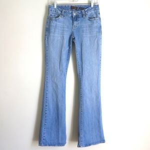 Aeropostale | Stretch Flare Mid Rise Jeans Tall